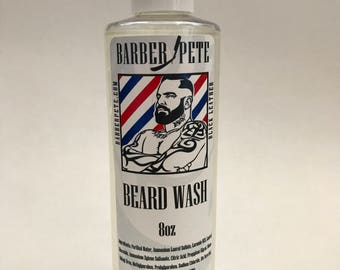 Barber Pete Beard Wash.