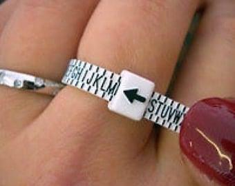 UK Ring Sizer - Ring Size Gauge