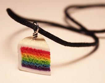 Glitter Rainbow Cake