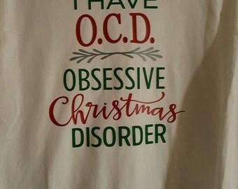 O.C.D tee shirt