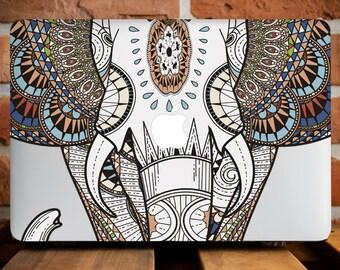 Indian Elephant MacBook Case MacBook Air 11 Case MacBook Pro 15 Case MacBook Pro Case 13 Inch MacBook Retina Mac Case MacBook Hard WCm008