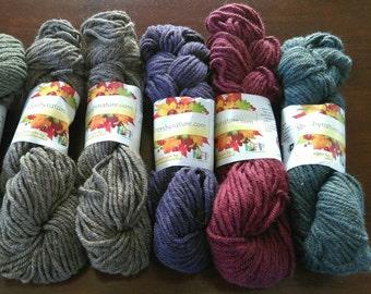 Semi-Precious Bulky Yarn