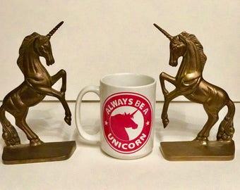 Be a Unicorn Starbucks parody mug