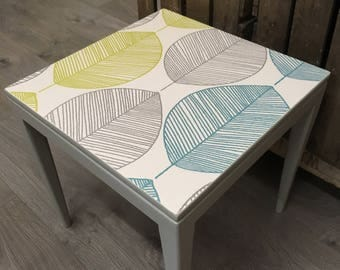 Upcycled Retro End Table