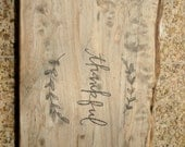 Reserved for Jean Chen***  Large Reclaimed Big Leaf Maple Charcuterie, Cheese Serving, Cutting Board / Wedding Gift