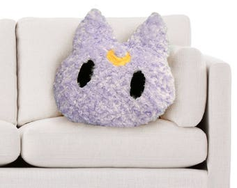 Sailor Moon, Luna Cat Face Pillow
