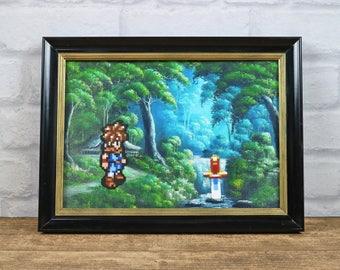 Chrono Trigger, Pixel Art, Game Art, 8-bit Art, Reproduced Painting