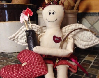 Valentine's Day Cupid Doll