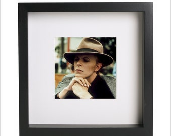 David Bowie photo print | Use in IKEA Ribba frame | Looks great framed for gift | Free Shipping | #2
