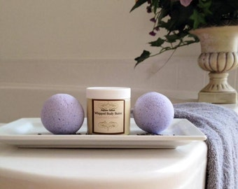 Sweet Dreams Body Butter & Bath Bomb Set/Assorted Scents/Lavender/chocolate/Gingerbread/Red Wine/Merlot/Chardonnay