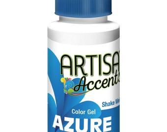 Azure Blue Artisan Accents Professional Color 2 oz.