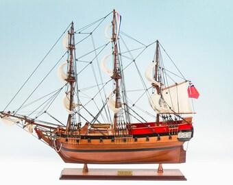 HMS Sirius 1786 (75cm) Model Tall Ship