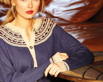 Rowan Finest by Sarah Hatton ref ZB159 14 Knitting Patterns for Women in 4ply cardigans, sweaters, accessories