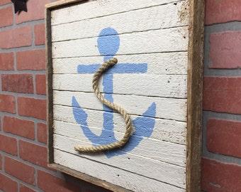 Anchor, Rustic Anchor, Beach Decor, Nautical Decor, Beach, Nautical, Rustic Decor, Coastal Living, Seaside Living, Beach House
