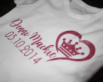 personalised baby vest / personalised vest / personalised baby gift / baby vest / glitter baby / glitter vest / new baby gift / babyvest