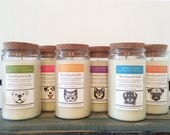 Pet Odor Eliminator Candles / Soy Candle / Scented Candles / Cat Themed Gift / Dog Themed Gift / Soy Wax / Soy / Candles / For Her / Soy