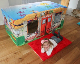 Animal Zoo Table Play Den Play House Kids Play Tent - Your child will love this!
