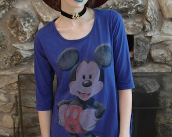 Vintage Mickey Mouse Dress / Shirt