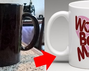 Worlds best Mum - Heat colour changing Mug - Ideal for Mothers Day