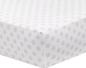 Lavender Chelsea Crib Sheet | Lavender Baby Bedding | Baby Girl Nursery