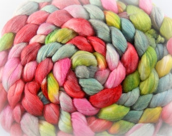 Babes in Toyland, on Merino Combed Top 4oz.