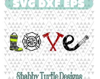 Fire love SVG DXF EPS