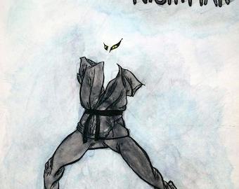 "18""x18"" Always Sunny Dayman and Nightman Prints"