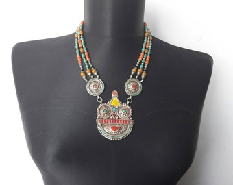 Tibet necklace tibetan jewellery,tibetan necklace,nepal necklace