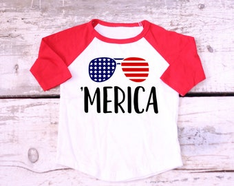 Toddler Boys 4th of July Outfit, Boys 4th of July Outfit, Boys 4th of July shirt, 4th of July, 'Merica