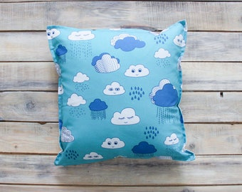 READY TO SHIP! Clouds pillow