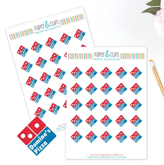 Calendar Planner Reminder Stickers : Domino s reminder stickers planner