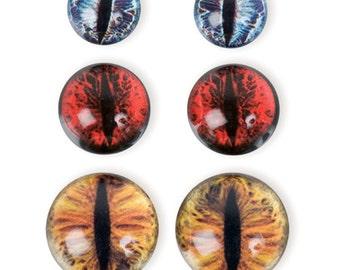 Dragon Eye Set - Earth Tones (STEAM179)