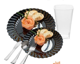 Flaired Black GRAND Party Package