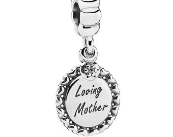 Authentic Pandora LOVING MOTHER Dangle Charm