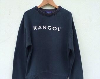 Vintage Kangol Big Logo Sweatshirt/ Kangol Sweatshirt Kangol Sweater Kangol Sport Streetwear Size Medium