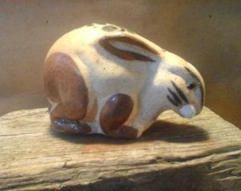 MEXICAN Handmade Pottery Rabbit