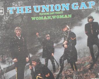 The Union Gap Vinyl Record, Gary Puckett vintage vinyl record