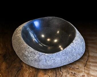 Small bluestone bowl