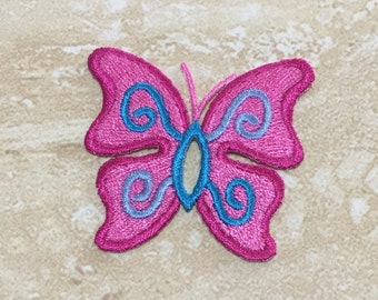 BUTTERFLY Iron On Patches