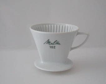 Coffee filter - porcelain - Melitta 102