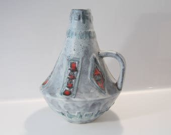 Stunning vase by Walter Gerhards,  West German Pottery  WGP, 208/30