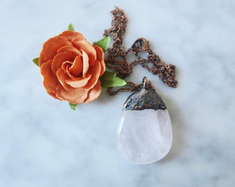 Rose Quartz Necklace