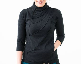 Mmbrace : Soft 3/4 sleeve sweatshirt