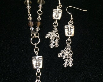 Serenity Necklace and Earrings Set