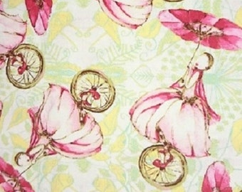 Westminster Fabrics   Riddles & Rhymes Unicycle and Bridgette Lane- Plaid 2- Remnants