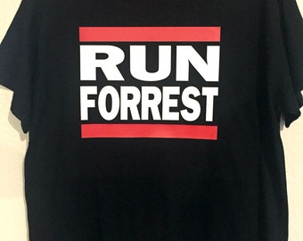 Run Forrest Tee // Forrest Gump // Mens and Womens Shirt
