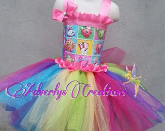 shopkins tutu outfit set