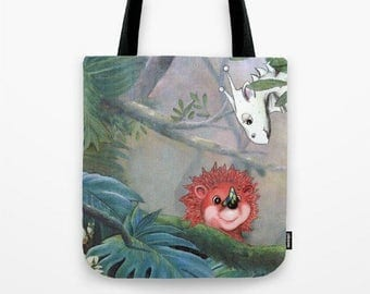 Tote Bag *Cutie Creatures from the Forest*