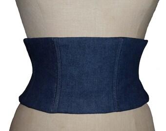 Rental cincher jean/satin