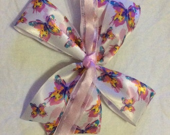 Pinwheel butterfly bow